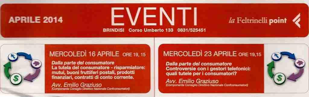 Brindisi - Graziuso Feltrinelli - 16e23_4_14