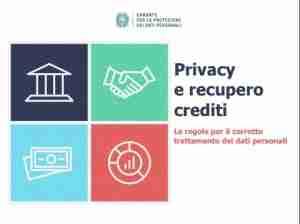 Vademecum Privacy e recupero crediti 2016 COPERTINA