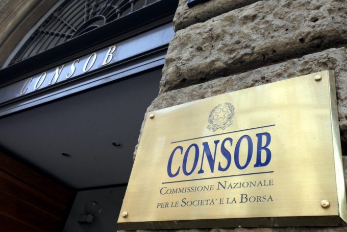 Consob Banca Popolare di Vicenza cause BPV