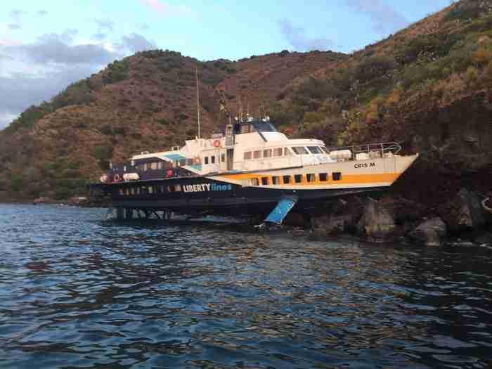 Aliscafo Lipari diritti passeggeri