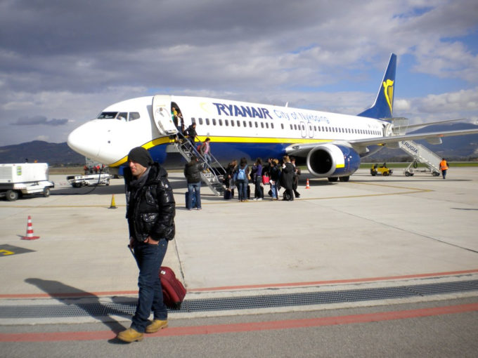 Ryanair wizz air procedimento Antitrust