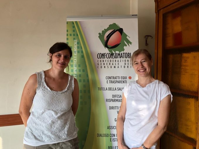 Lorena Frati e Francesca Campanini
